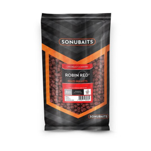 Sonubaits Feed Pellets Robin Red 8mm (drilled)