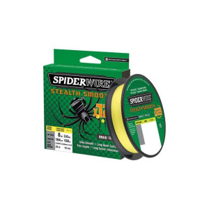 Spiderwire Stealth Smooth 8 Hi-Vis Yellow 0,19mm 100m