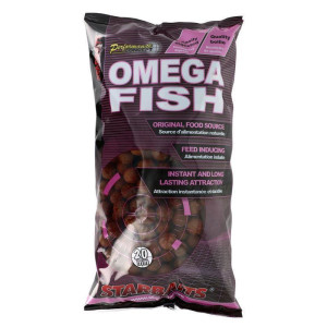 Starbaits Performance Concept Boilies Omega Fish 14mm 1kg