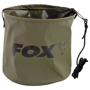 Fox Collapsable Large Water Bucket 10L