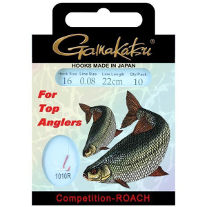 Gamakatsu Competition LS-1010R Roach 22cm 0,10mm Gr. 18