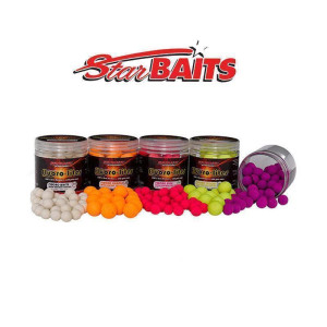 Starbaits Fluoro Lite Pop Up 14mm Weiß