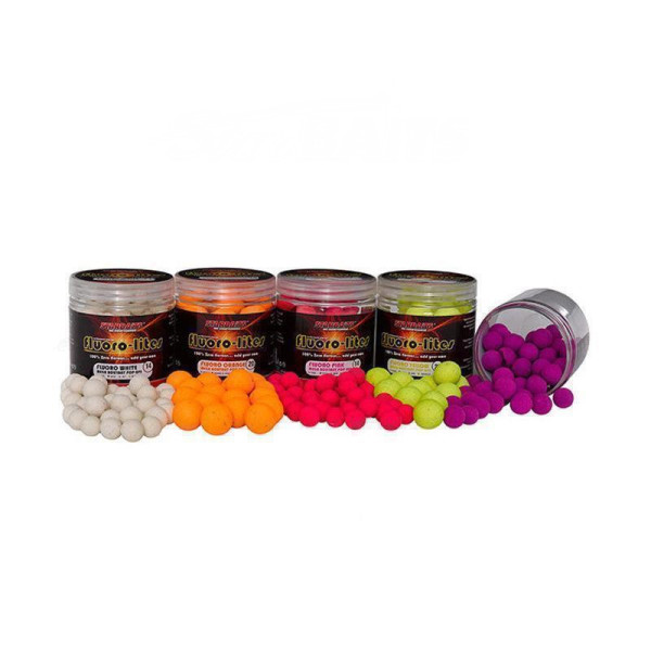 Starbaits Fluoro Lite Pop Ups 14mm Schwarz