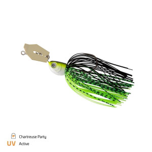 Zeck Chatterbait Gr. 6/0 - 10g Chartreuse Party