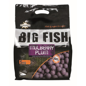 Dynamite Baits Big Fish Boilies Mulberry Plum 20mm 5kg