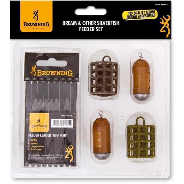 Browning Bream & Other Silverfish - Feeder Set