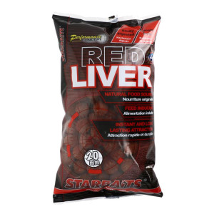 Starbaits Performance Concept Red Liver Boilies 20mm 1kg