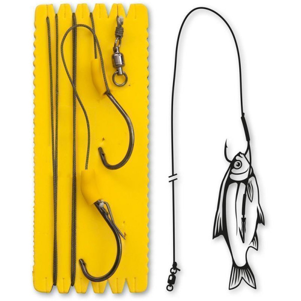Black Cat Bouy and Boat Ghost Single Hook Rig L