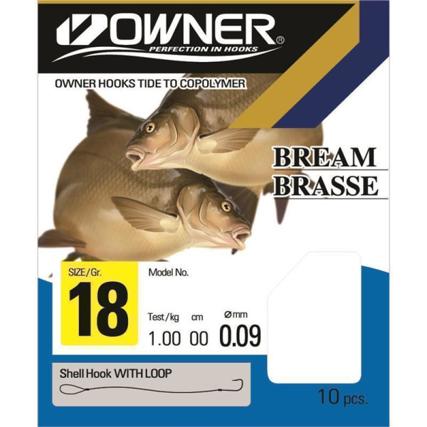 Owner Brasse Gunsmoke 70cm 0,18mm Gr. 10