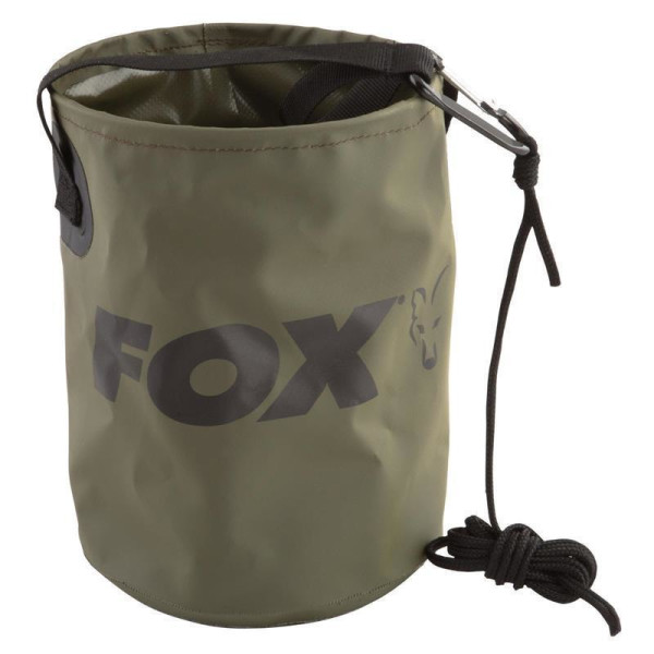 Fox Collapsible Water Bucket
