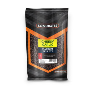 Sonubaits Cheesy Garlic Halibut Pellets 6mm
